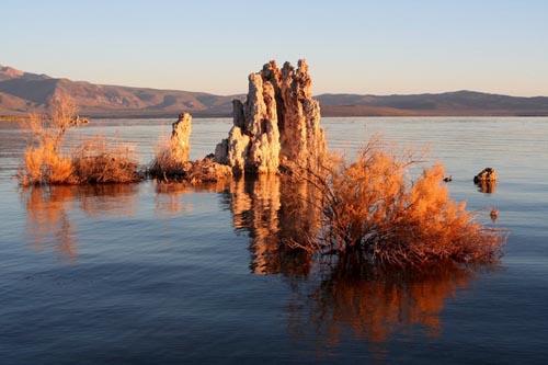 фотографии озера Моно США