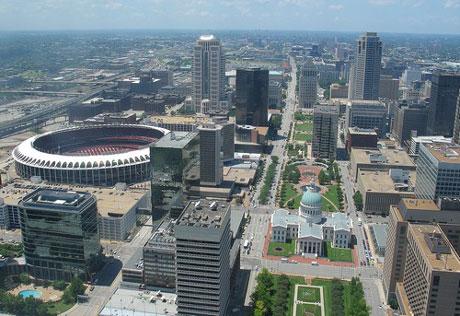 город Сент-Луис США фото