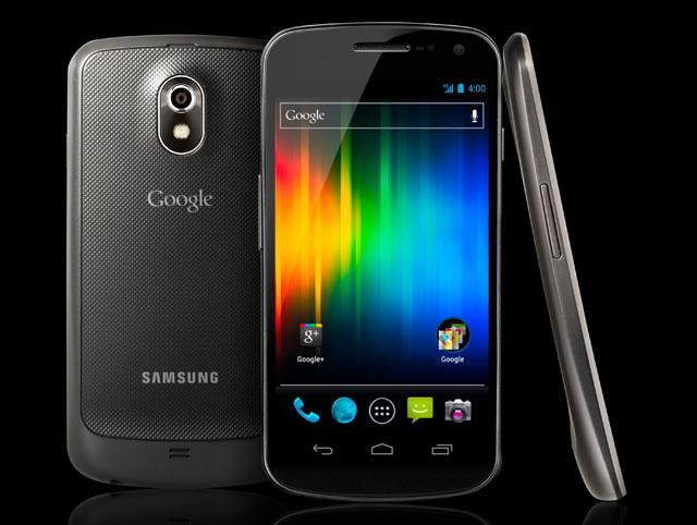 Samsung Galaxy Nexus фотографии