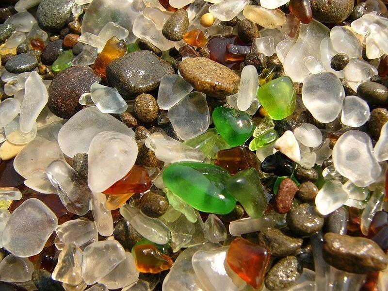 Стеклянный пляж Калифорнии