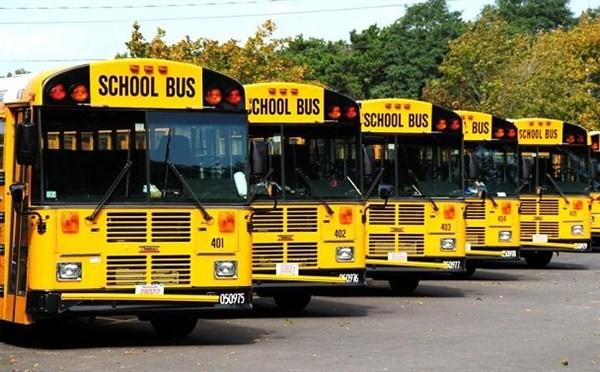 школьный автобус в Америке
