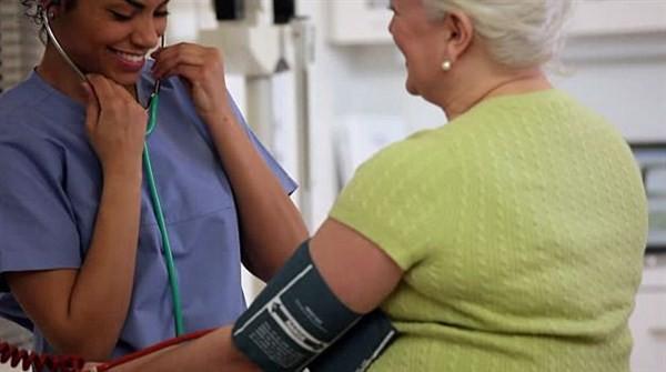 Случайное фото медсестры